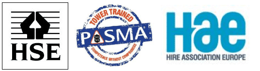 PASMA HAE scaff logo.